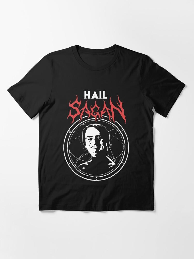 Alternate view of HAIL SAGAN Essential T-Shirt