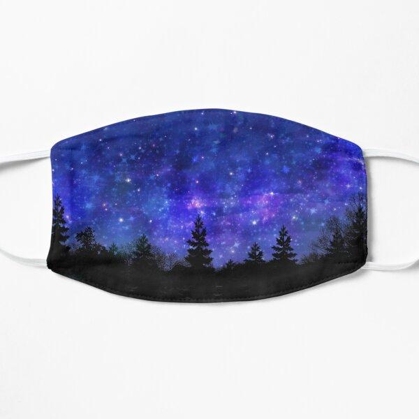 Beautiful Night Sky Flat Mask