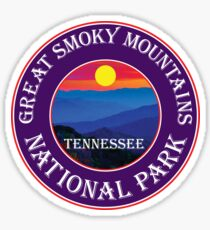 GATLINBURG TENNESSEE GREAT SMOKY MOUNTAINS NATIONAL PARK SMOKIES 3 Sticker