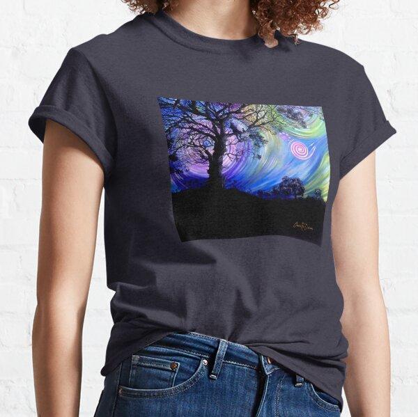 Aurora Borealis Dreaming Classic T-Shirt