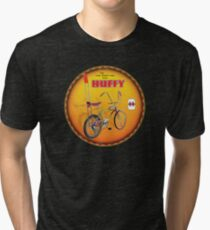 Huffy Vintage Highrise Bicycles USA Tri-blend T-Shirt