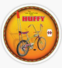 Huffy Vintage Highrise Bicycles USA Sticker