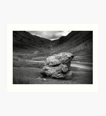 Honister Pass Lake District UK Art Print