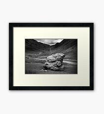 Honister Pass Lake District UK Framed Print