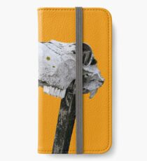 Animal Skull on a Stick iPhone Wallet/Case/Skin