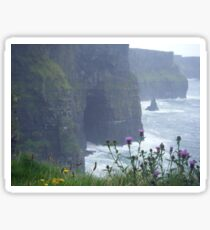 cliffs of moher, co. clare.  Sticker
