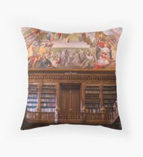 Strahov Monastery Library Throw Pillow