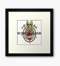 Schrute Farms - The Office Framed Print