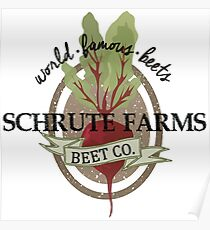 Schrute Farms - The Office Poster