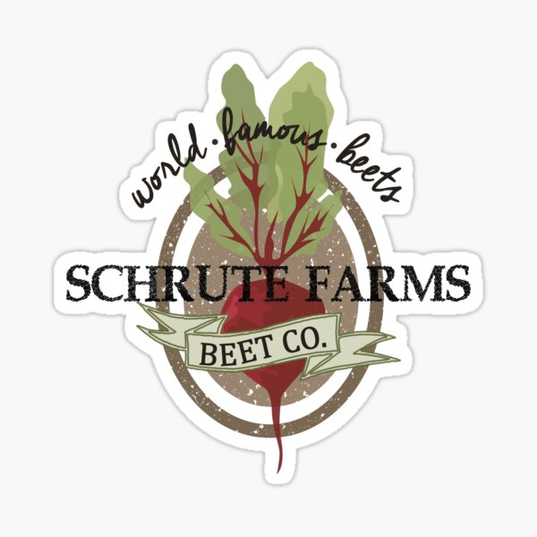 Schrute Farms - The Office Sticker