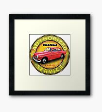 Volvo 121 122 Amazon Sweden Framed Print