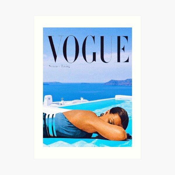 Santorini Summer Art Print