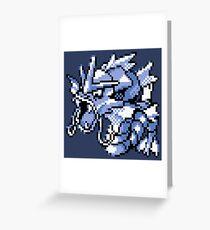 Gyarados - Pokemon Red & Blue Greeting Card