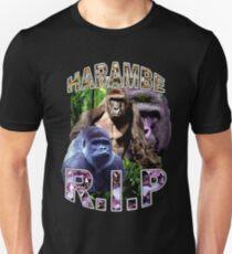 R.I.P. Harambe Vintage Hip-Hop T-Shirt
