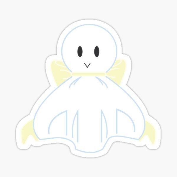 Yellow Teru Teru Bozu Sticker