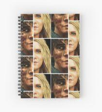 Bellarke portraits Spiral Notebook