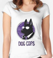 Dog Cops Women's Fitted Scoop T-Shirt