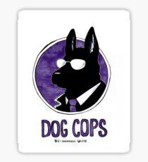 Dog Cops Sticker