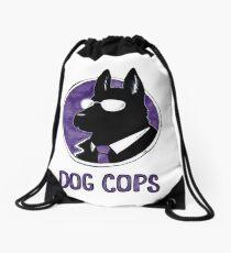 Dog Cops Drawstring Bag
