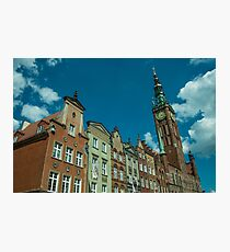 Clock Tower Gdansk  Photographic Print