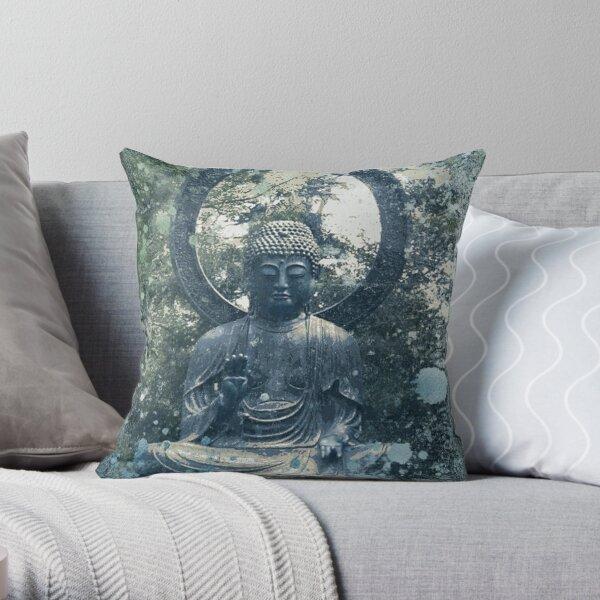 Abstract Zen Buddha Throw Pillow