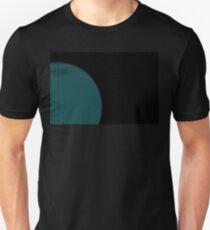 Wire Globe Half Blue T-Shirt