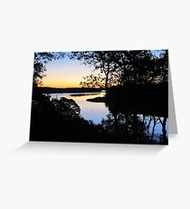 Pleasant Bay, Cape Cod Greeting Card