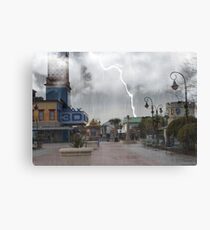 Broadway At The Beach Canvas Print