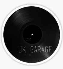 UK Garage Vinyl Sticker