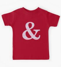 Letter & Ampersand Blue And Pink Dots And Dashes Monogram Initial Kids Clothes