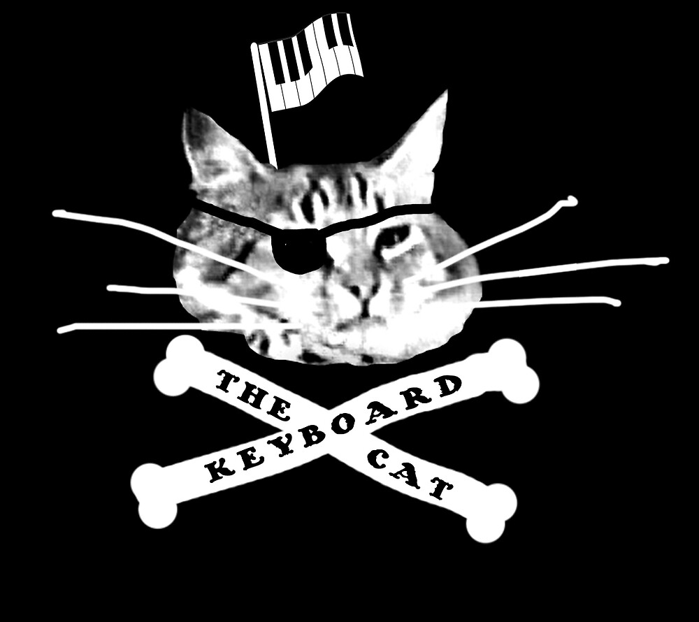 Keyboard Cat Pirate by keyboardcat