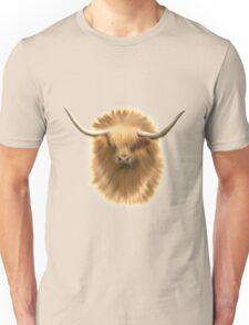 Highland cattle bull Unisex T-Shirt