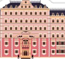 Grand Budapest Hotel Sticker Sticker