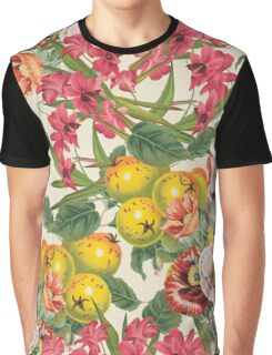 Planting Dreams flower collage Graphic T-Shirt