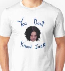 Jack White - You Don't Know Jack Unisex T-Shirt