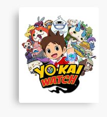 Yokai Watch Canvas Print