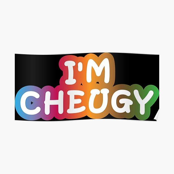 I'm Cheugy Poster