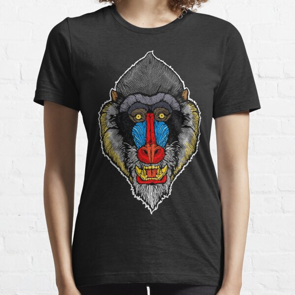 Mandrill Face Essential T-Shirt