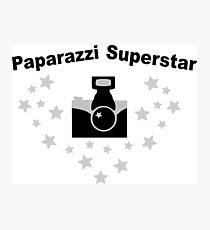 Paparazzi Superstar Photographic Print