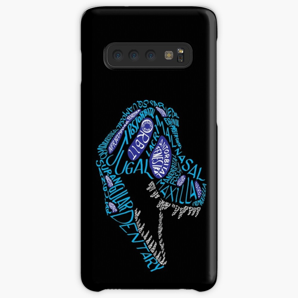 Color Calligram Tyrannosaur Skull Case & Skin for Samsung Galaxy