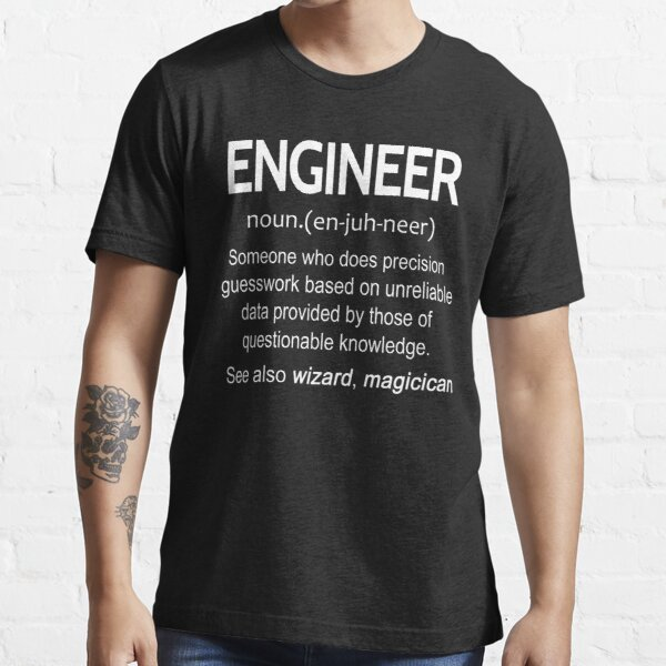 Engineer Noun T-shirts Essential T-Shirt