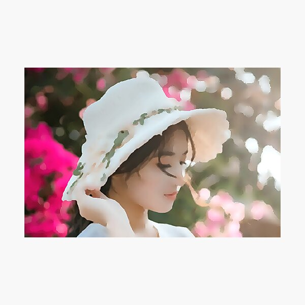 The Lady with the Hat Photographic Print
