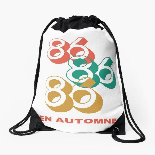 born in 1986 in Autumn Drawstring Bag