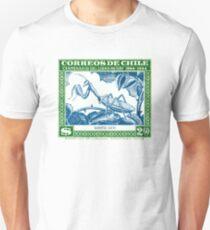 Antique 1948 Chile Praying Mantis Postage Stamp Unisex T-Shirt
