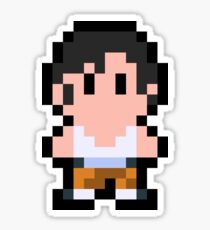 Pixel Chell Sticker