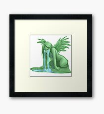 Weeping Angel (not from Dr. Who though) Framed Print