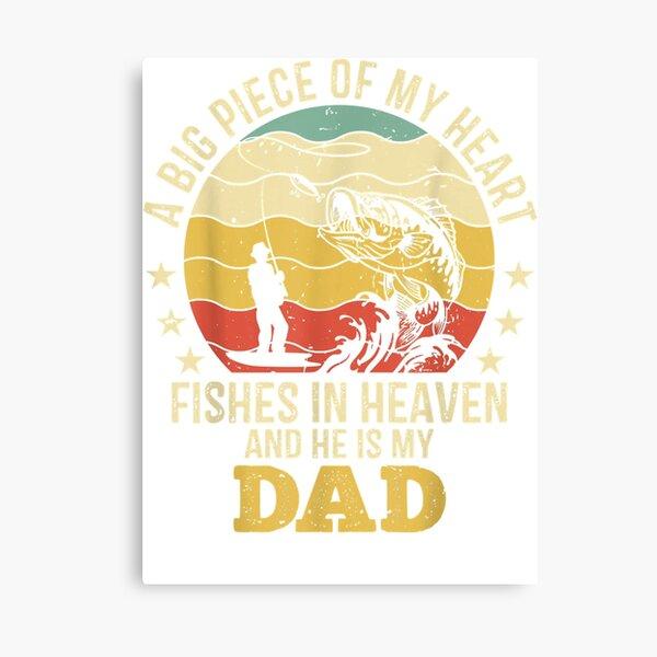 Dad In Heaven Canvas Prints Redbubble