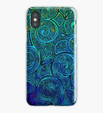 Color Swirl iPhone Case/Skin