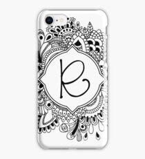 R iPhone Case/Skin