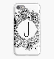 J iPhone Case/Skin